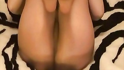 Sexy home video chick not wearing underwear