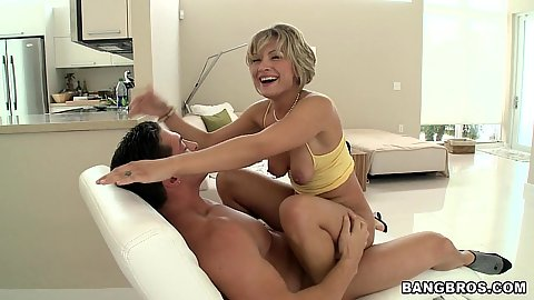 Holly Marie jumping on cock with anus view