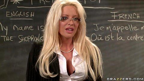 Big tits at school with naughty teacher Hellfire