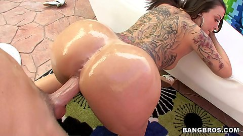Great juicy mil doggy style fucked on the carpet