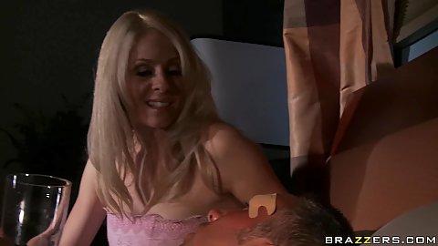 Divorced milf Angela likes a big cock