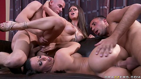 Group sex with Rachel the naughty swap wife
