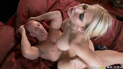 Madison humps on cock and then sideways