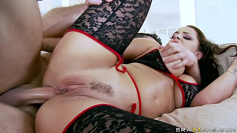 Reverse cowgirl anal fucking with ass pump