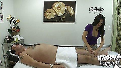 Little asian Mika is a shy asian massage slut