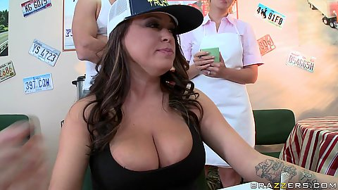 Brandy Talore and her big nice tits