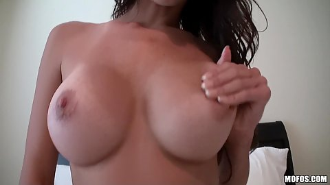 Slut fingers and touches her ass and pussy