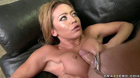Mia sucks and fucked hard