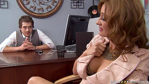 Hot milf Mya is a mom that loves that cock