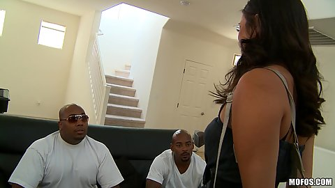 Milf meets up some big cock guys