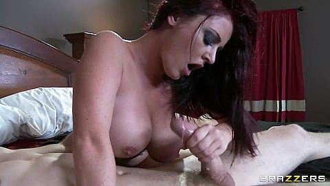 Big tits Sophie Dee sucks and pussy licked