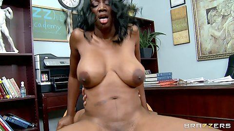 Big tits milf Nyomi having sex with sons principal