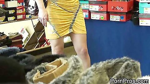 Ash Hollywood gets violated in public hehe clothes ripped