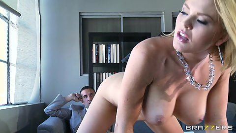 Krissy Lynn is applying for a nice office job
