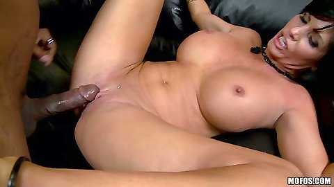 Big tits Shay Fox fucked by a huge black cock