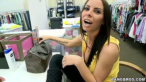 Brandy Aniston at the store going to suck some dickie