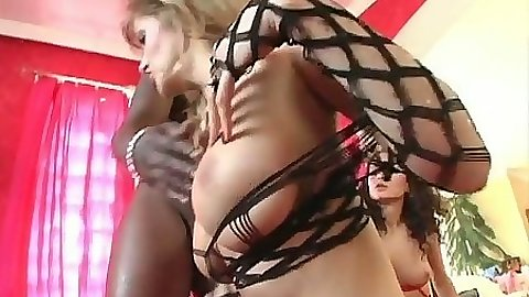 Big tits sluts Jane Darling and Louisa DeMarco threesome hard fuck