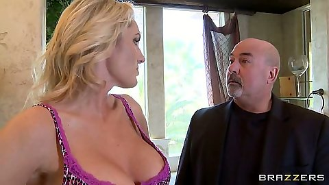 Big tits milf Zoey Holiday going to cheat on husband in bathroom while he is home