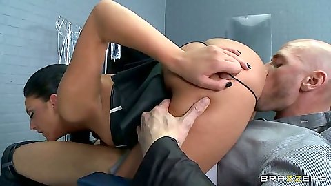 Big ass doctor with a fetish Tiffany Brookes doing 69 with patient