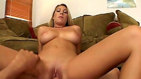 Big tits blonde mature milf Tiffany riding cock and handjob