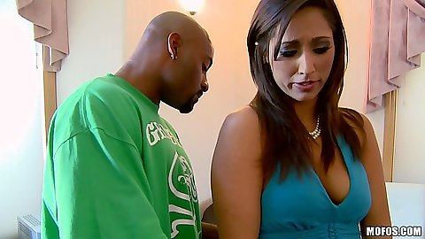 Natural tits latina Reena Sky looking for major black cock