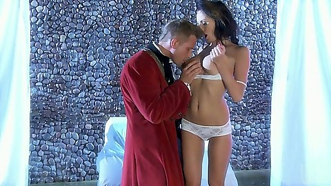 Milf Alektra Blue gets touched and fucked by dude
