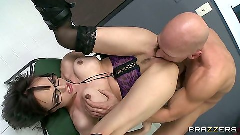 Cytherea ass licked and pile driver pussy jammed