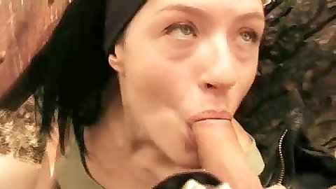 Home video pov blowjob from amateur gf malice