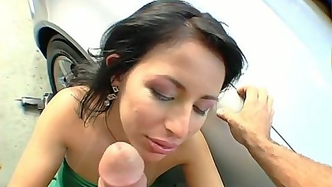 Silviane Mercedez working on cock and doggy style and sideways fuck