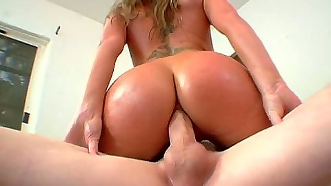 Big ass Flower Tucci riding some cock anal style and rough entering
