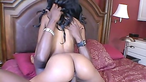 Cowgirl from athletic tight ass black chick Andreena
