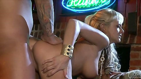 Doggy style penetration sex with Briana Blair and reverse cowgirl cock ride