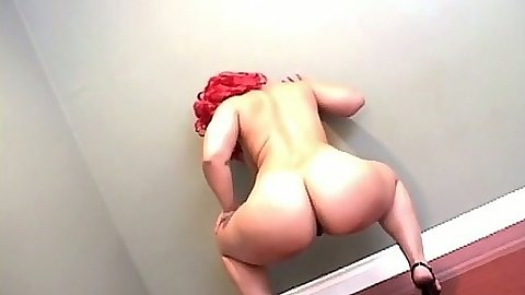 Ebony black ass Pinky sucking black cock