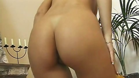 Nice ass babe Sophie Angel getting fingered and licked with sucking it