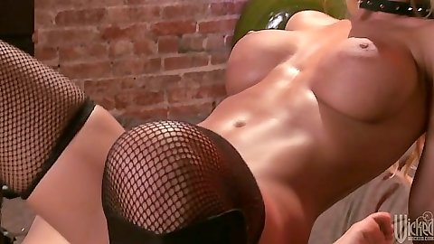 Big tits athletic Nicole Aniston riding cock cowgirl and more sex