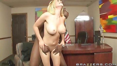 Hot bodied naughty school girl fucked sideways on desk