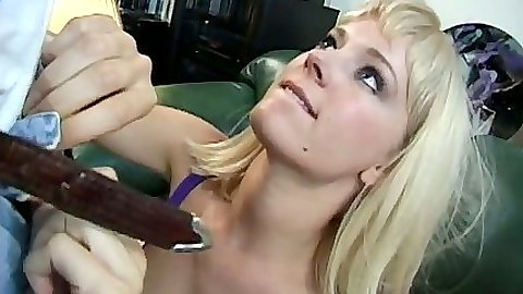Nici Sterling and Avalon engage in a threesome sex in office with sucking