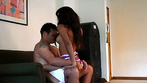 Latina teen Carina18 makes out with guy and sucks his dick