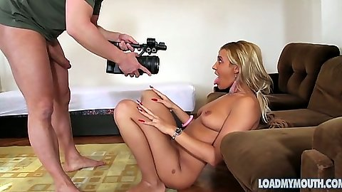 Photo shoot with Goldie Divine showing off her skinny ass and body