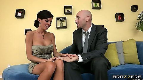 Milf Veronica Avluv gets fingered half dressed and takes off her panties