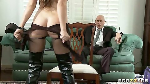 Undressing nice ass teen Teal Conrad Teal Conrad reaching for cock in suit pants