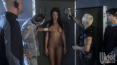 Robot slut Kirsten Price is looking good and skinny