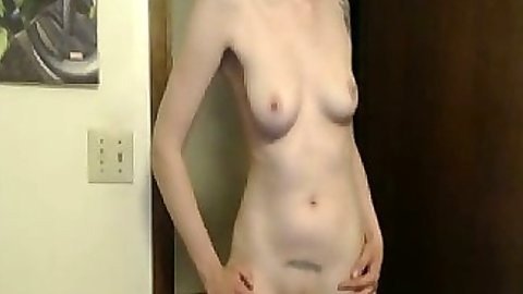 Home video amateur solo scene with Acacia fingering pussy