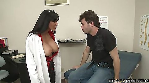 Doctor exposes herself infront of patient and blows him