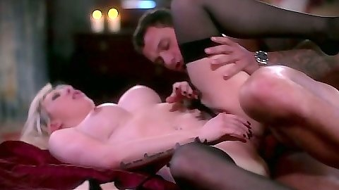 Anal sex with big tits Valerie Fox and cowgirl fucking