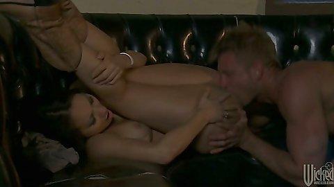 Pussy licking and fingering natural tits asian Asa Akira