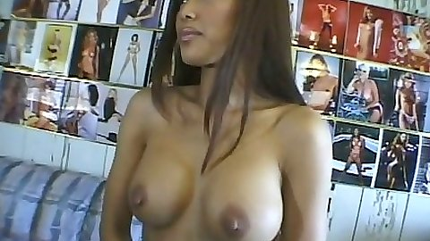 Sexy asian Teanna Kai with big tits hanging out in lesbian sex with grool