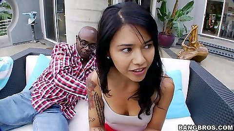 Asian Dana Vespoli looking for big dick intervention