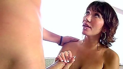 Big tits milf Ava Devine handjob with pov sucking and doggy anal