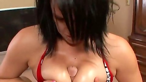 Pov titty fuck from Austin and cock sucking bitch